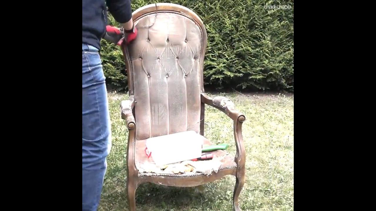 Transformação em cadeira
