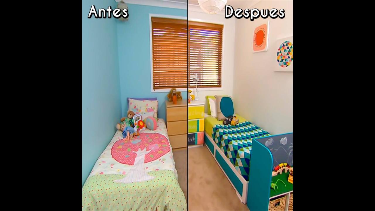 Transformando o quarto das crianças