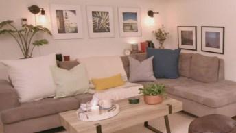 Transformando Uma Sala Em Um Cômodo Completamente Novo, Confira!