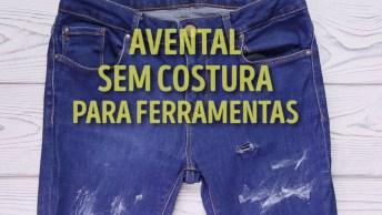 Uma Ótima Ideia Para Fazer Com A Quela Calça Jeans Velha, Confira!