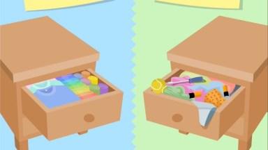 Veja A Diferença Das Pessoas Organizadas E As Desorganizadas!