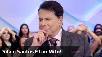 Veja O Motivo Do Apresentador Silvio Santos Ser Considerado Mito!