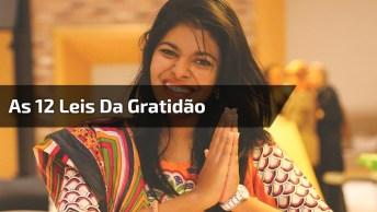 Vídeo Com Linda Mensagem De Gratidão, Algo Que Não Pode Faltar Em Você!