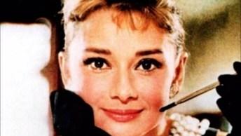 Vídeo Com Lindas Fotos De Audrey Hepburn Uma Atriz Fantástica!