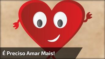 Vídeo Com Mensagem Animada De Coração, Para Enviar A Amigos E Amigas!