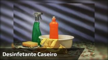 Vídeo Ensinando A Fazer Desinfetante, Bora Pegar Papel E Caneta Para Anotar!
