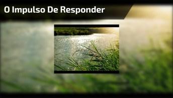 Vídeo Falando Sobre O Impulso De Responder Da Mesma Forma Que Os Outros!