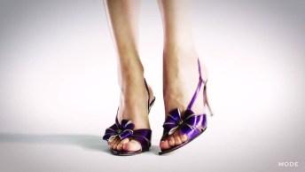 Vídeo Muito Legal Mostrando A Evolução Dos Sapatos Femininos Em 100 Anos!