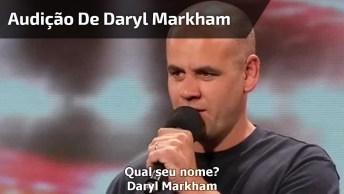 Audição De Darly Markham Em Programa De Tv, Sensacional, Confira!