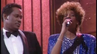 Linda Parceria Dionne Warwick, Stevie Wonder, Whitney Houston E Luther Vandross!