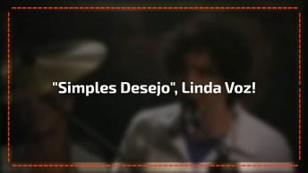 Luciana Mello Cantando 'Simples Desejo', Linda Voz, Confira!