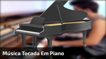 Musica 'Despacito' Tocada No Piano, Olha Só Que Legal Que Ficou!