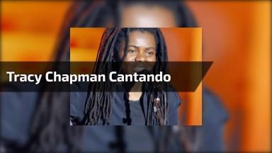 Olha Só Que Legal Tracy Chapman Cantando 'Three Little Birds' De Bob Marley!