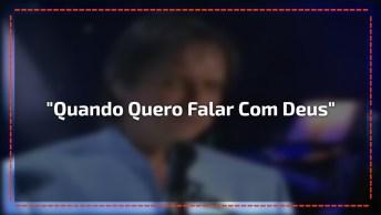 Roberto Carlos Cantando Com Daniel 'Quando Eu Quero Falar Com Deus'!