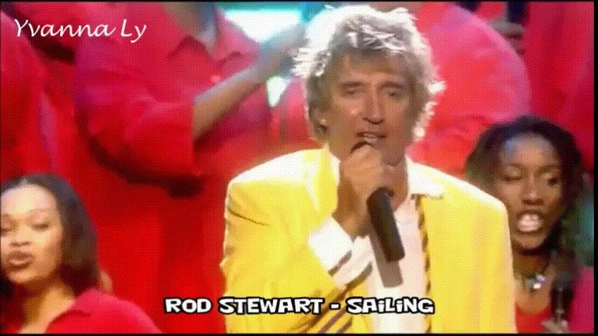Rod Stewart cantando Sailing com tradução