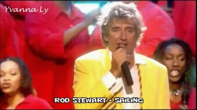 Rod Stewart Cantando Sailing Com Tradução, Um Vídeo Para Recordar!