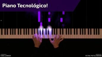 Simplesmente Apaixonada Por Este Aparelho, Um Piano Totalmente Tecnológico!