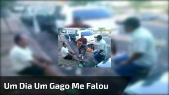 Um Dia Um Gago Me Falou-Com Marcos E Claudio, Confira!