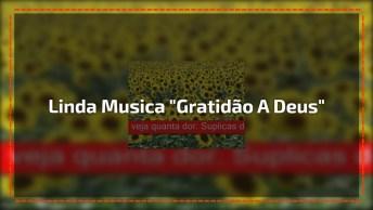 Uma Linda Música 'Gratidão A Deus' De Célia Tomboy, Ouça Com Muito Amor!