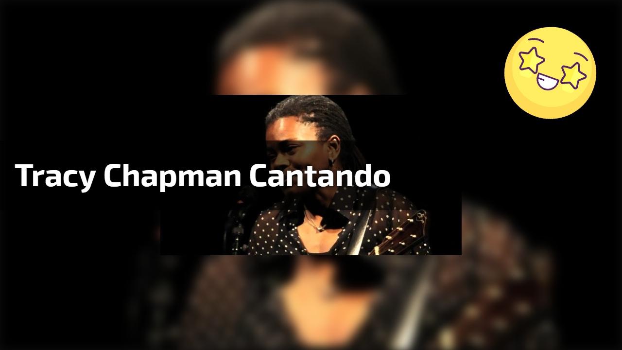 Tracy Chapman cantando
