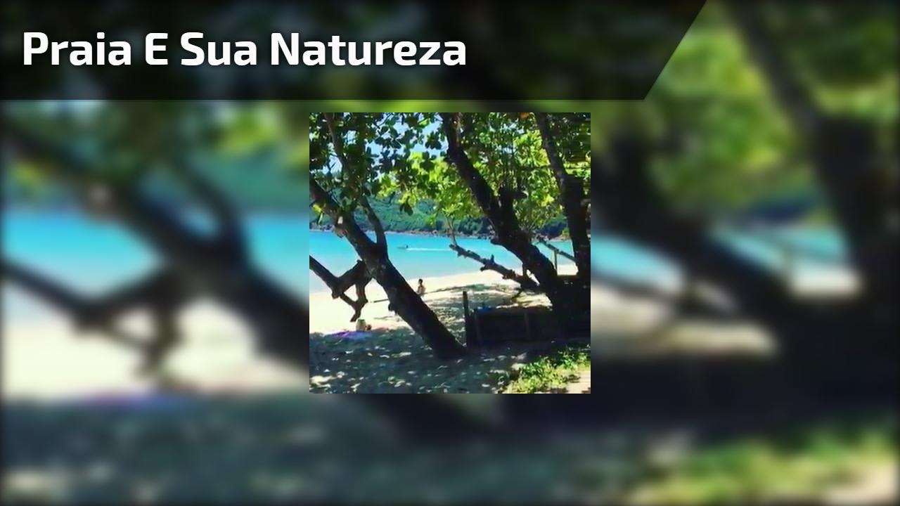 Praia e sua natureza