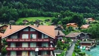 Aldeia De Iseltwald-Suíça, Um Lugar Lindo Que Parece Ter Saído De Um Livro!