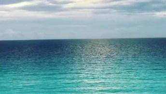 Amanhecer Do Dia Em Cancun, Uma Imagem Inesquecível, Olha Só Que Linda!