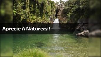 Aprecie A Natureza! Cachoeira Da Prata Em Bueno, Minas Gerais!
