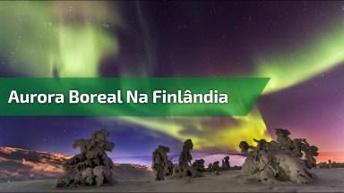 Aurora Boreal Na Finlândia, Veja Que Imagens Magnificas Deste Lugar!