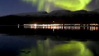 Aurora Boreal Na Noruega, Veja Como É Lindo Este Fenômeno Impressionante!