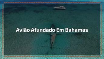 Avião Afundado Em Bahamas, Um Lugar Paradisíaco Da Natureza!