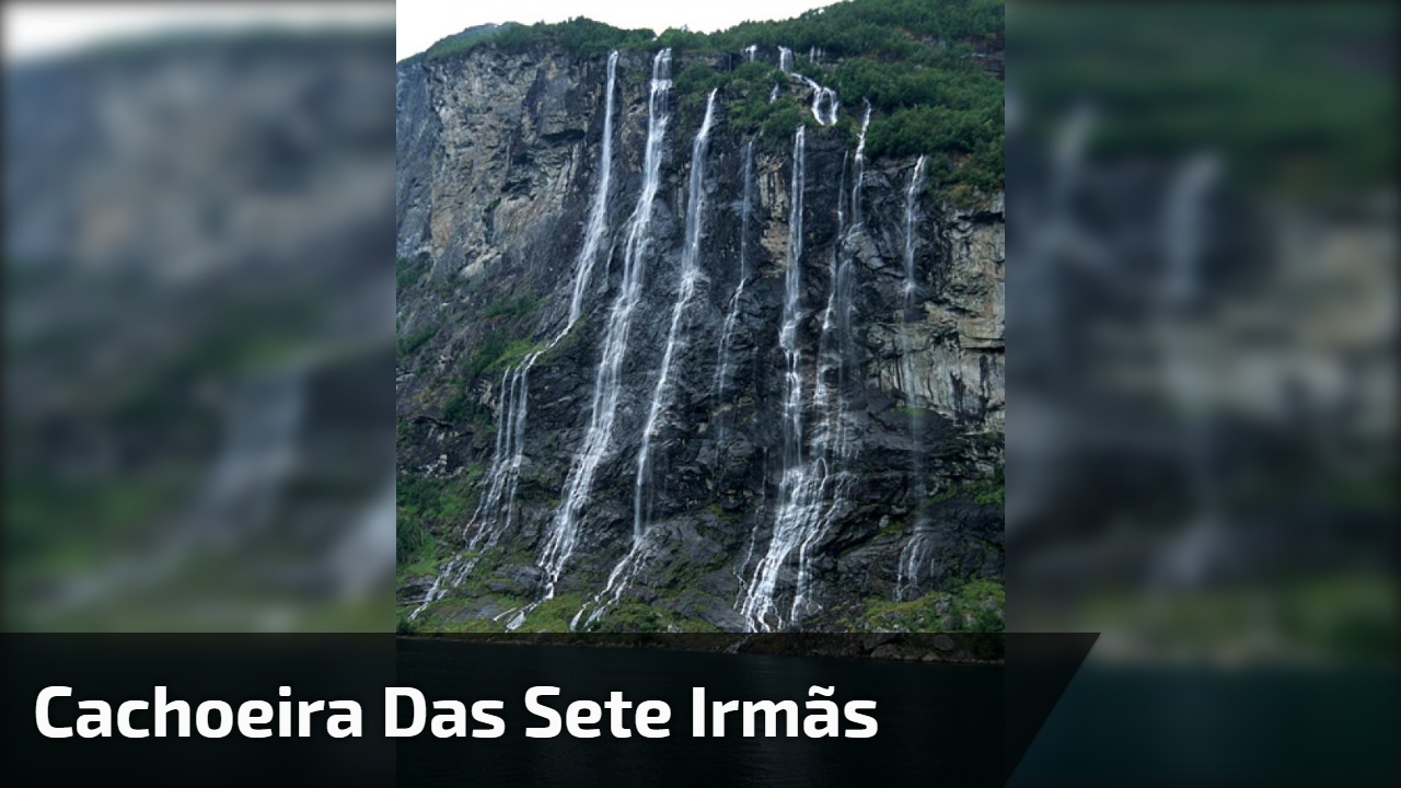 Cachoeira das Sete Irmãs