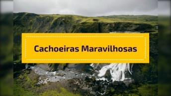 Cachoeiras Maravilhosas Para Compartilhar No Facebook, A Natureza É Incrível!