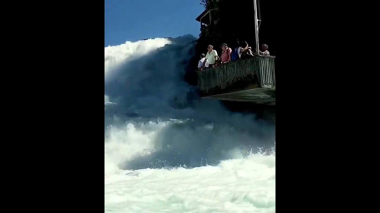 Caratas do Reno na Suíça, olha só que lugar maravilhoso