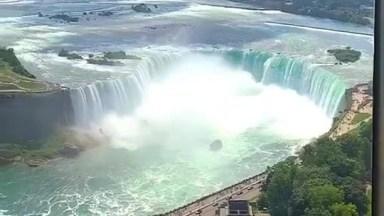 Cataratas No Niagara, Uma Boa Inspiração Logo No Café Da Manhã!
