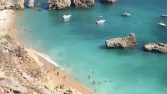 Conheça Algarve Uma Das Belíssimas Praias Que Se Encontra Em Portugal!