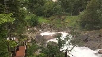 Conheça Cachoeira Em Geiranger Noruega, Um Lugar Perfeito Para Quem Ama Natureza