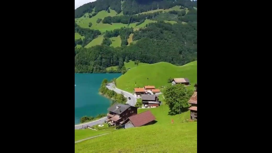 Conheça Lungern, um lindo lugar na Suíça