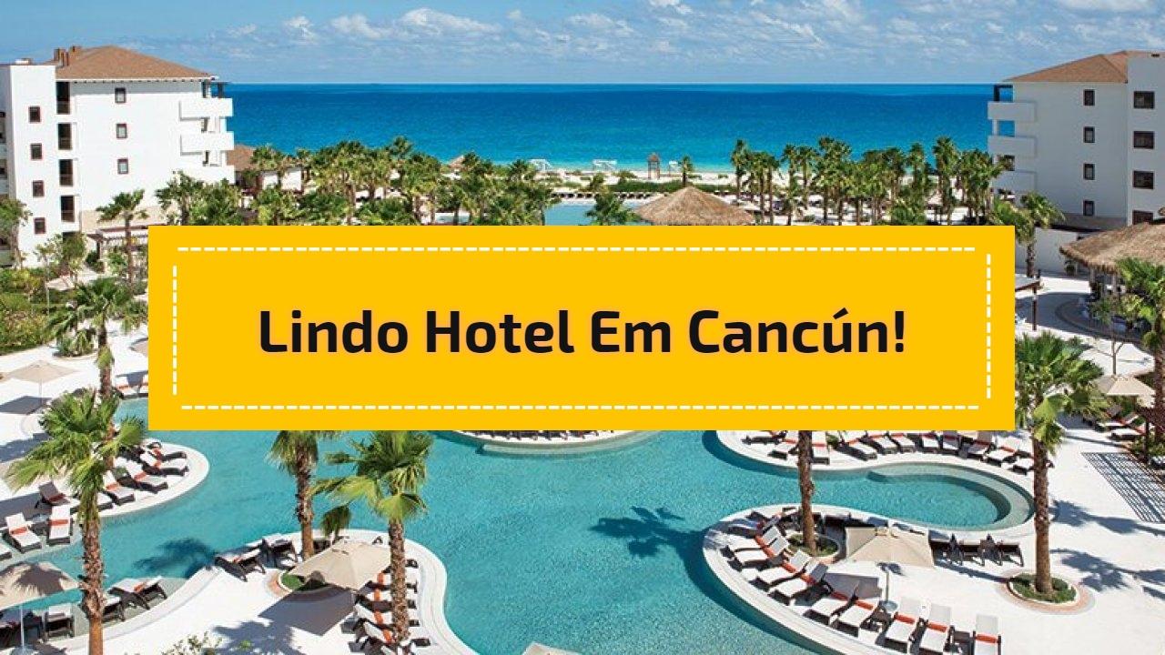 Lindo Hotel em Cancún!