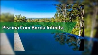Hotel Que Possui Piscina Com Borda Infinita Com Vista Para Natureza!
