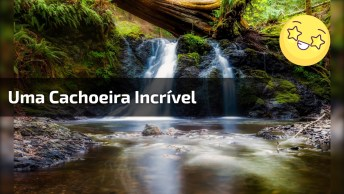 Imagens Da Natureza, Uma Cachoeira Incrível Que Os Turistas Amam!