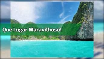 Imagens Da Praia Mais Linda Que Você Vai Ver Hoje, Que Lugar Maravilhoso!
