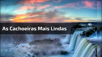 Imagens Das Cachoeiras Mais Lindas Do Mundo, Olha Quanta Água. . .