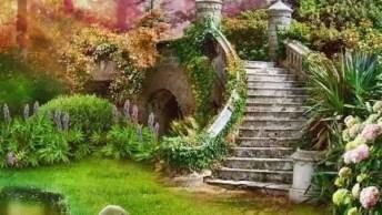 Imagens De Escadas Com Flores, Uma Mais Bela Que A Outra, Confira!