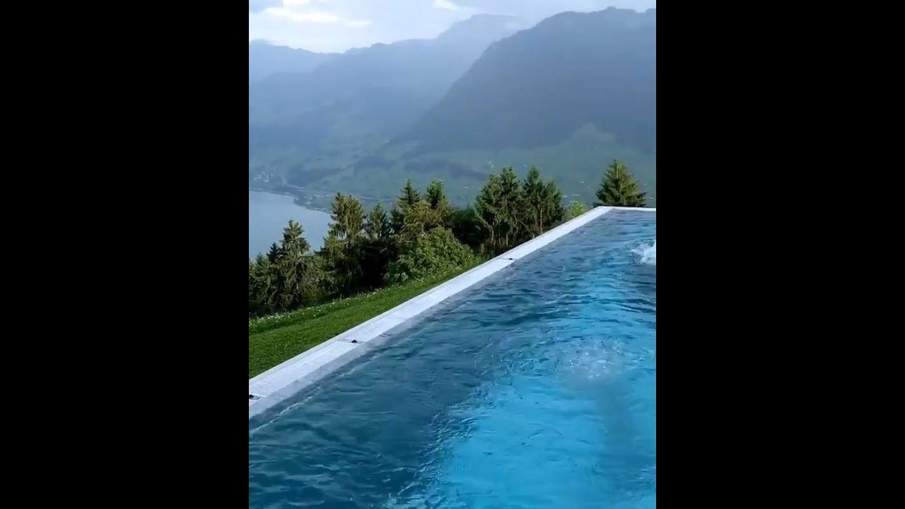 Imagens de um Hotel na Suíça, que lugar mais lindo