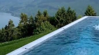 Imagens De Um Hotel Na Suíça, Que Lugar Mais Lindo, Confira!