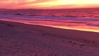 Imagens Do Entardecer Na Praia, A Natureza Realmente É Bela Demais!