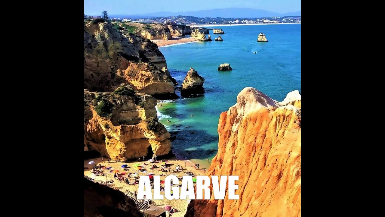 Imagens lindas de praias de Portugal