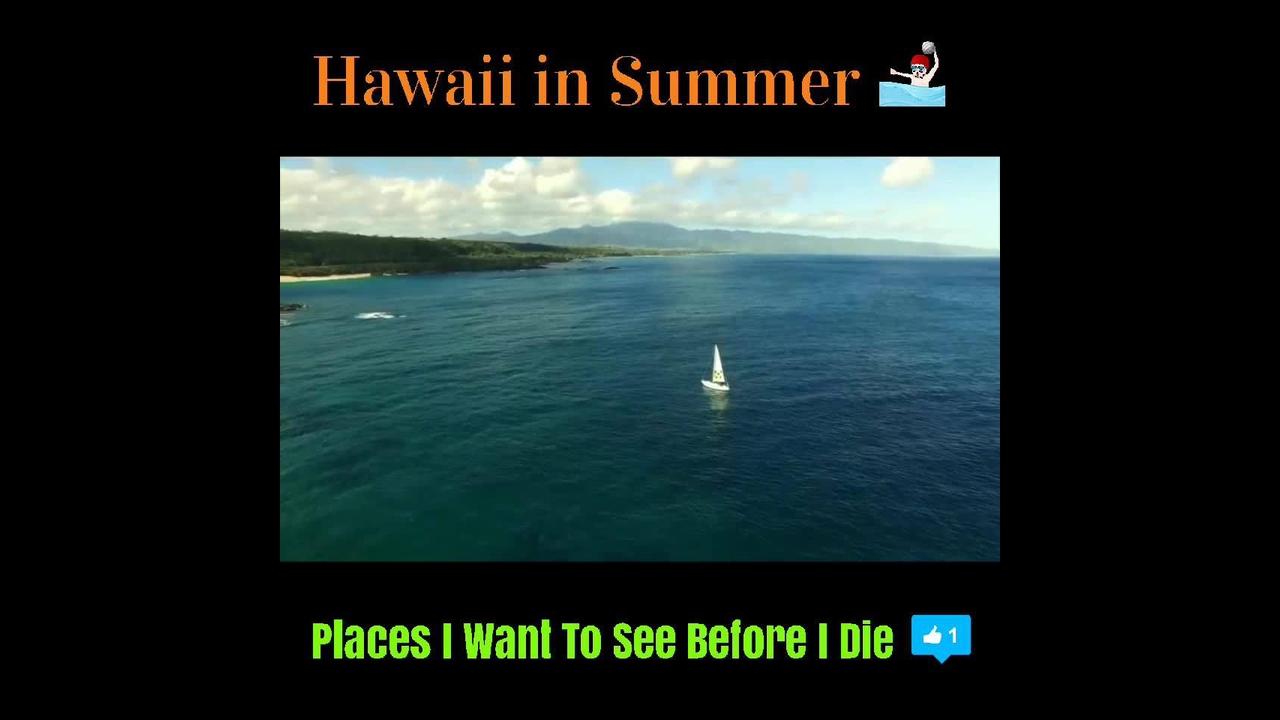 Imagens lindas do Hawaii, um lugar com beleza paradisíaca
