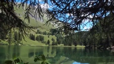 Lago De Palpuogna Na Suíça, Um Lugar Maravilhoso Cheio De Natureza!